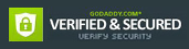Verified and Secured by Godaddy.com
