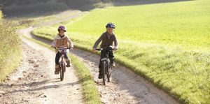 children-cycling