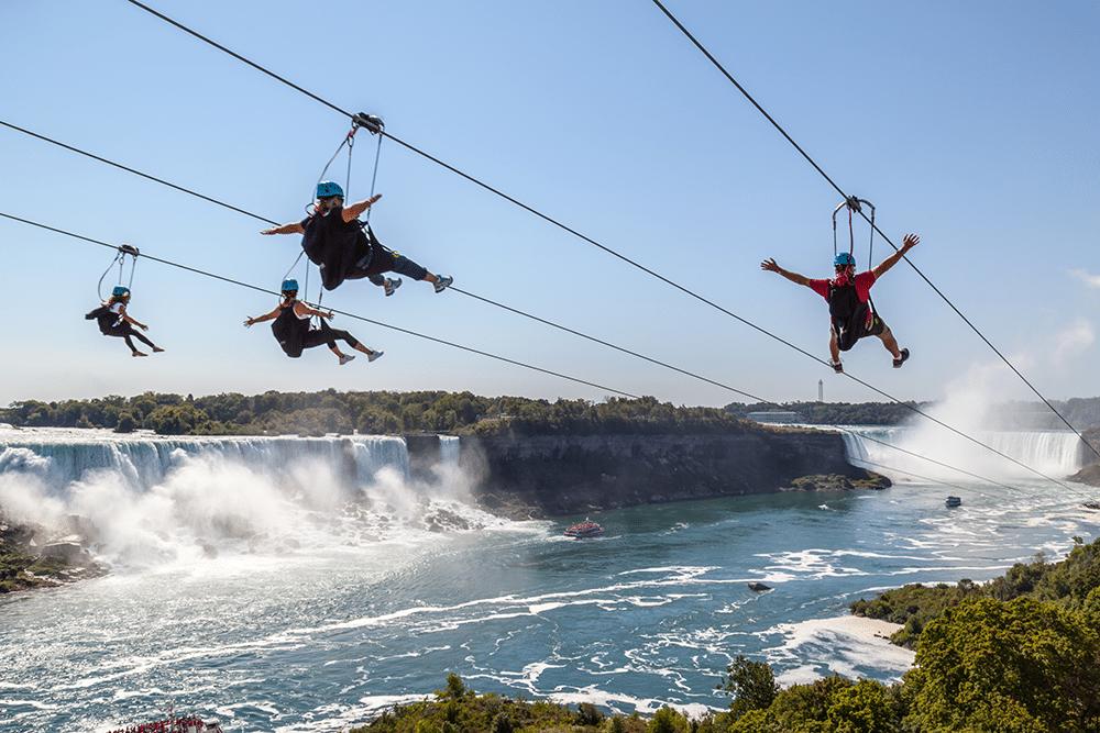 canada toronto ziplining