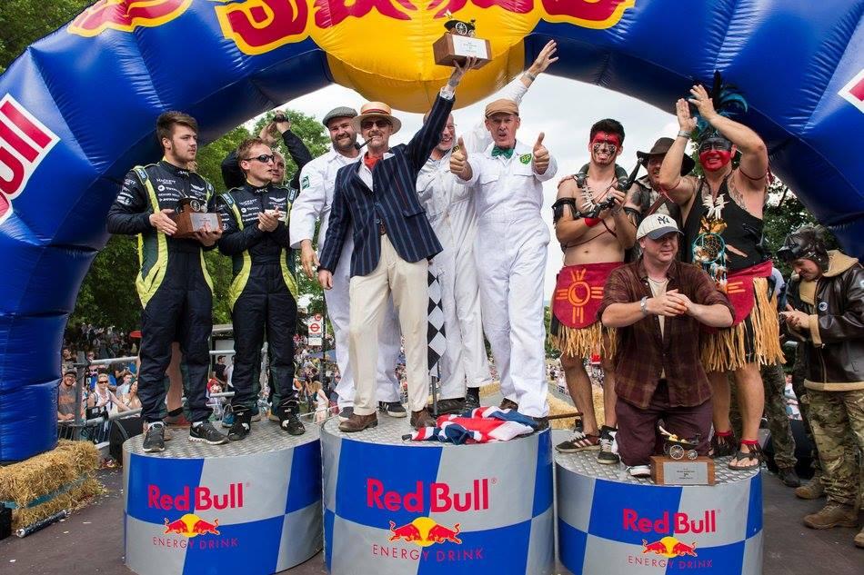 soapbox race podium