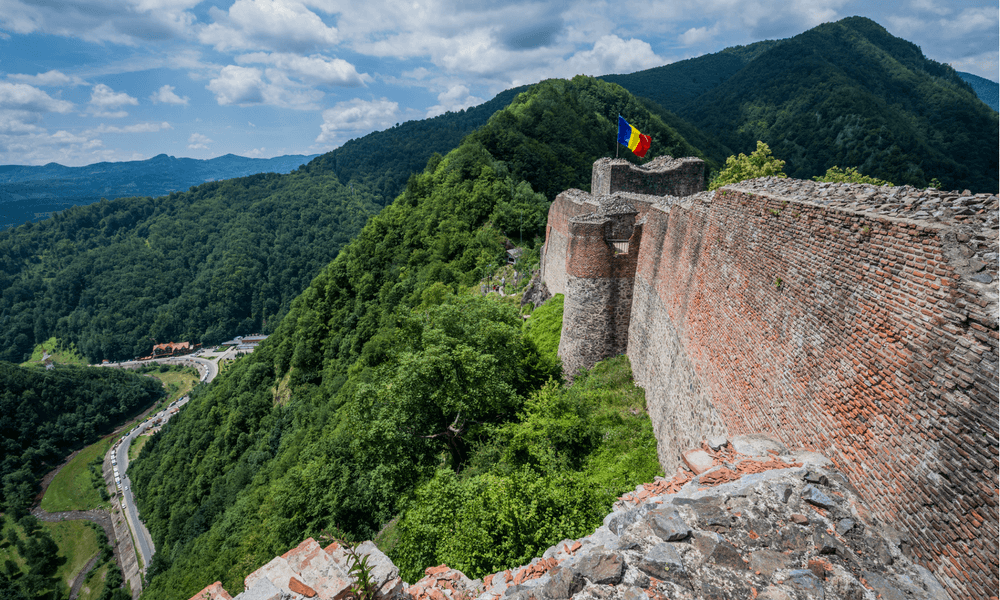 Poenari Castle - Hiking Romania