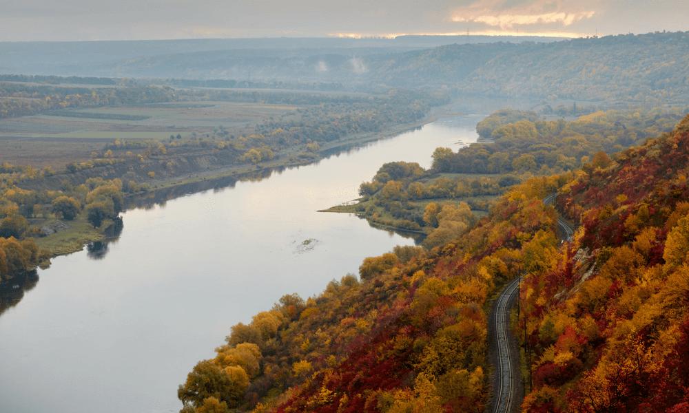 Train travel in Moldova