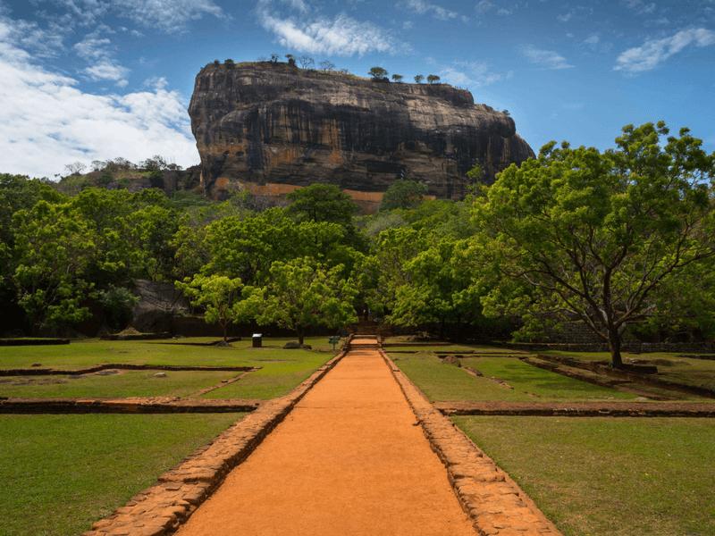 Sigiriya Rock - Altitude Sickness