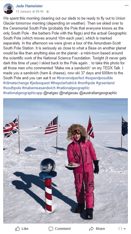 South Pole - January Round-Up