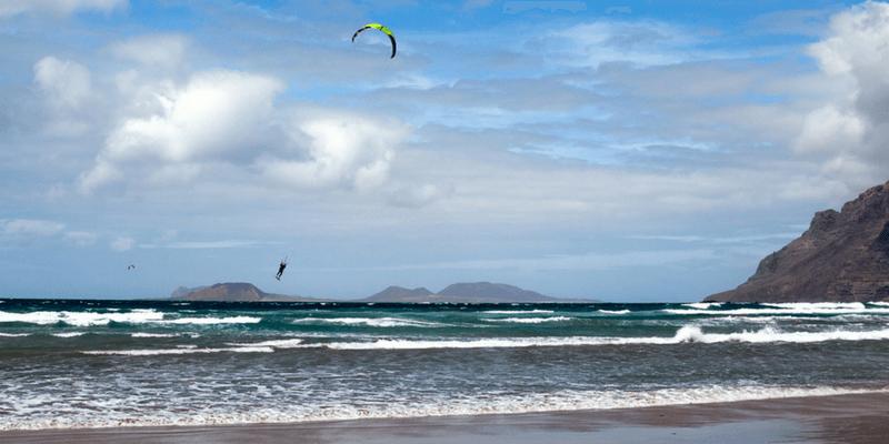 Kitesurfing Lanzarote