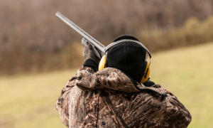 Winter Clay Pigeon Shooting