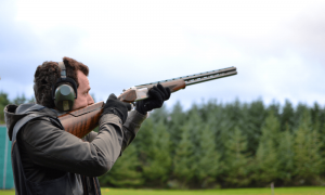 Clay Pigeon Shooting Party