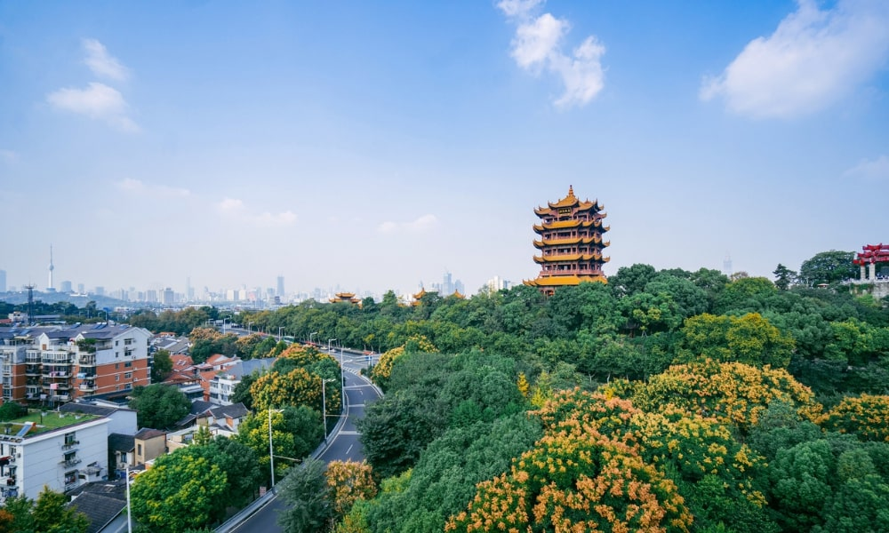 Wuhan's Yellow Crane Tower