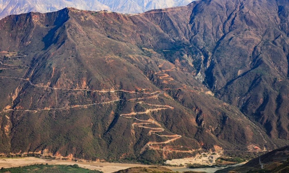 Colombian Mountain Roads - Cycling Holidays