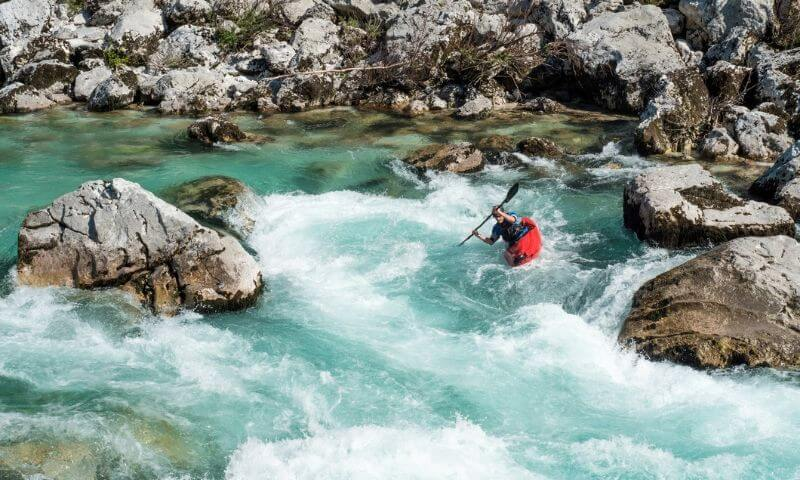White Water Kayaking - Slovenia