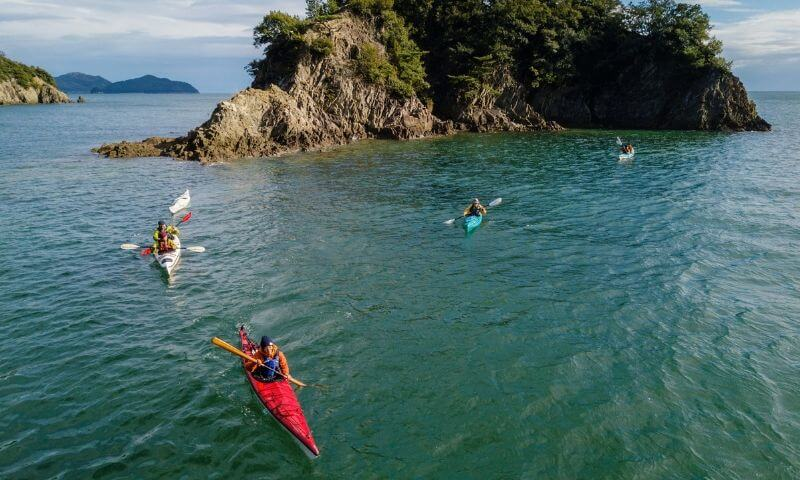 Sea Kayaking - Japan