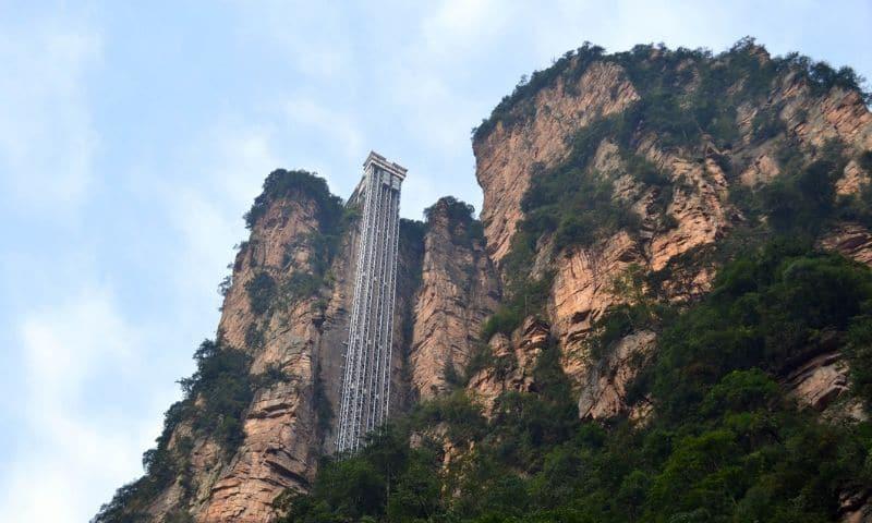 World's Tallest Elevator - Bailong