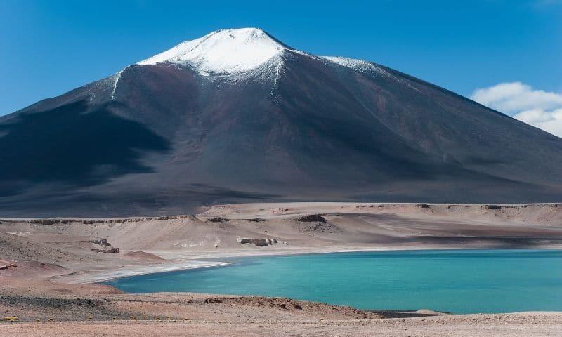 World's Largest Volcano - Ojos Del Salado