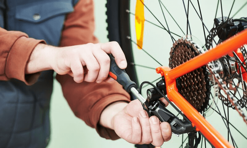 Cycling Holiday - Repairs