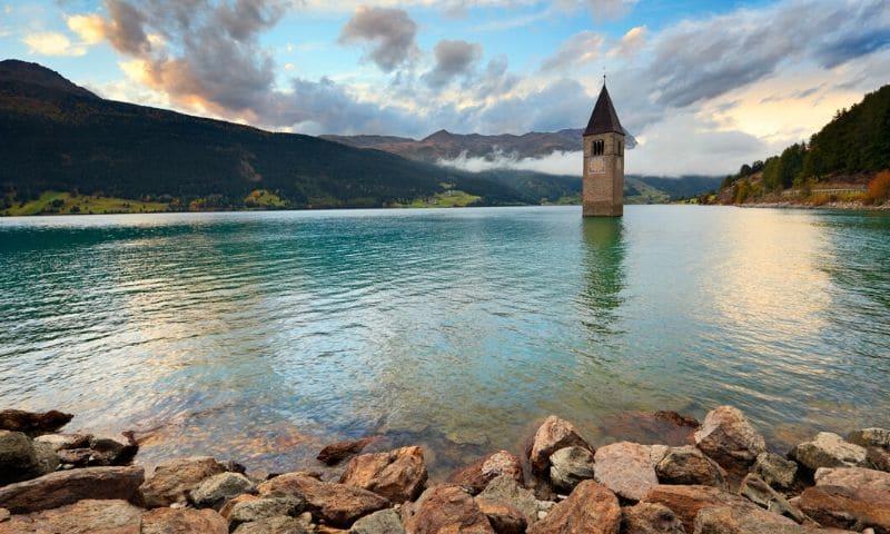 Abandoned Places - Lake Reschen