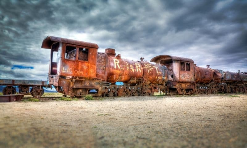 Abandoned Places - Uyuni