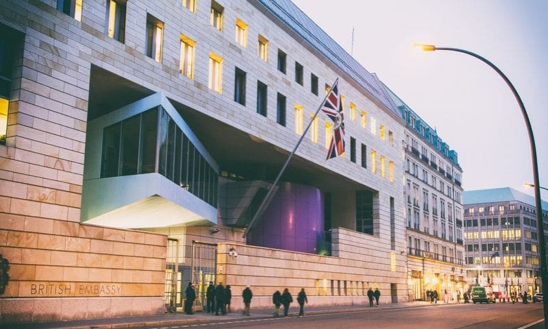 British Embassy - Berlin