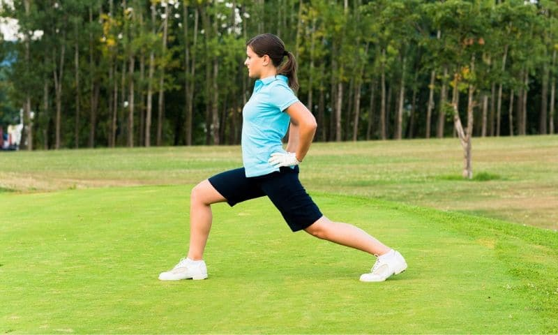 Golf Stretches - Lunges