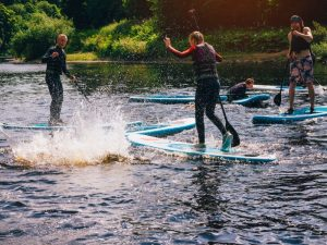 Stand-up paddleboarding & beginners